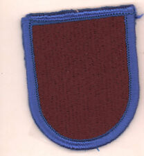 Spec Ops Cmd Special operations Test and Exp Army patch flash oval