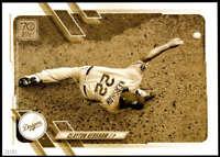 Clayton Kershaw 2021 Topps 5x7 Variation Short Prints Gold #67 /10 Dodgers