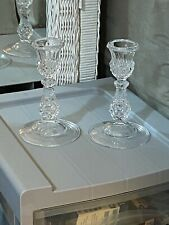 New ListingCut Glass Crystal Candle Holders Pineapple Design Elegant