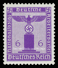 EBS Germany 1942 6 Pfennig Nazi Party Official Dienstmarke Michel 159 MNH**