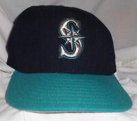 1993 Seattle Mariners OMAR VIZQUEL Game Used Worn ALTERNATE Baseball Cap Hat