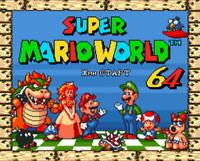 Super Marioworld 64 16 bit MD Game Card For Sega Mega Drive For Genesis