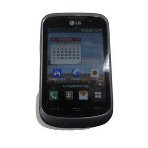 """LG 306G Cellphone Easy 3.2"""" Screen TracFone Wireless Camera GSM Wi-Fi 3G"""