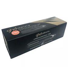 BLACK ghd PLATINUM + Plus Professional Styler Flat Iron Hair Straightener NIB