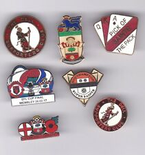 Collection Of 7 Southampton Badges
