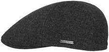 STETSON Flat Cap Hat Cap Texas Wool Cashmere 32 Grey New