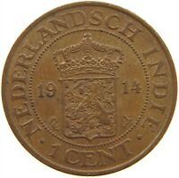 NETHERLANDS EAST INDIES 1 CENT 1914 TOP #s18 391