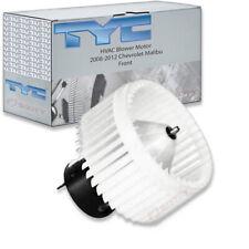 TYC Front HVAC Blower Motor for 2008-2012 Chevrolet Malibu  vc