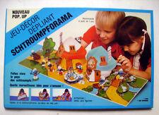 POP UP SCHTROUMPFORAMA - SCHTROUMPFS - Peyo 1983-  Smurf - Schleich