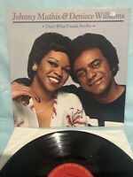 JOHNNY MATHIS / DENIECE WILLIAMS_THAT'S WHAT FRIENDS ARE FOR _VINTAGE VINYL LP