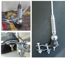Lambretta &  vespa / Beach Buggy 2 mtr fibre glass whip aerial WHITE