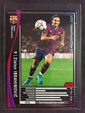 2009-10 Panini WCCF # 318 Zlatan Ibrahimovic Barcelona card