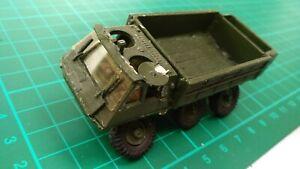 Alvis Stalwart Amphibious Cargo Vehicle White Metal Built Truck Army Military