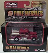 Corgi 1951 Seagrave Pumper San Francisco graphics on cab doorsin window box
