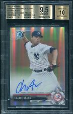 2017 Bowman Chrome Auto Refractor #CPA-CAD - Chance Adams [474/499] BGS 9.5
