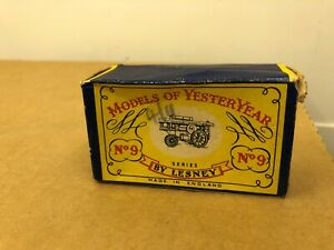 MATCHBOX YESTERYEAR Y-9 Fowler Big Lion Showman Engine