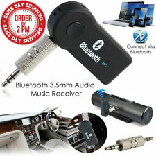 Wireless Bluetooth 3.5mm AUX Stereo Audio Music Home Car Receiver Adapter Kit