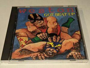 "WESTON ""Got Beat Up"" CD 1996 Go Kart Records 14 Songs Punk GREAT ALBUM!"