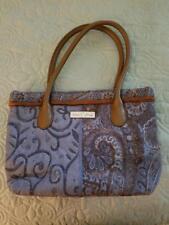 Isabella's Journey Blue and Brown handbag