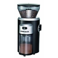 Rommelsbacher EKM 300 Schwarz-Silber Kaffeemühle Kegelmahlwerk