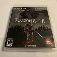 Dragon Age II: BioWare -- Signature Edition (Sony PlayStation 3, 2011) Complete!