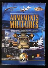 ARMEMENTS MILITAIRES   COFFRET 5  DVD    HISTORY CHANNEL   ZONE 2