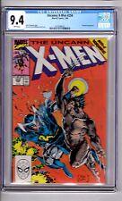 X Men #258 CGC 9.4 W/P 'App..Mandarin..Wolverine! Jim Lee Cover & Art!