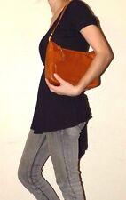 EUC Women's Vintage Morris Moskowitz Brown Leather Shoulder Bag Handbag Purse
