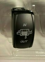 NEW 5 Pin Laser Rocker Switch - 12V 20A - 2 LED's - Winch In/Out - UTV Truck