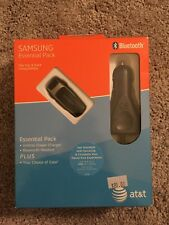 Samsung Essential Pack - Vehicle Power Charger and Bluetooth Headset