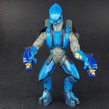 "Halo 2 Series 4 RANGER ELITE Blue 10"" Action Figure Joyride Studios 2005"