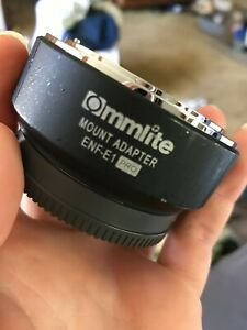 Commlite CM-ENF-E1 PRO AF Lens Adapter For Nikon F Lens To Sony E-Mount