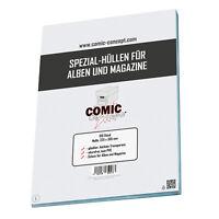 Comic Concept Spezial-Hüllen (ohne Lasche) für Alben und Magazine (225 x 305 mm)