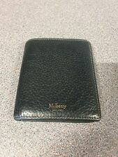Mulberry Black Trifold Wallet