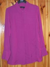 LADIES M&S  AUTOGRAPH FUCHSIA COLOUR BLOUSE SIZE 6