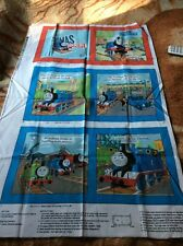 2011 Thomas The Tank Engine And Friends Cotton Book Panel Unfinished OOP