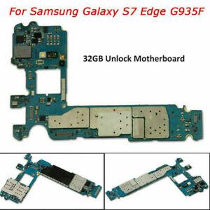 For Samsung Galaxy S7 Edge SM-G935F Motherboard Board 32GB Unlocked EU Version