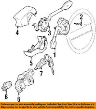 VW VOLKSWAGEN OEM 98-99 Cabrio Steering Column-Lower Clmn Cover 1H0953516P01C
