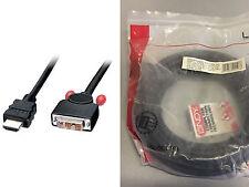 CAVO HDMI A DVI-D DIGITAL A/V 10 MT.M/M LINDY 41106