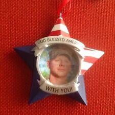 "Hallmark ~ ""God Blessed America With You"" ~ Photo Ornament ~ #1DIR2741 ~ NWT"