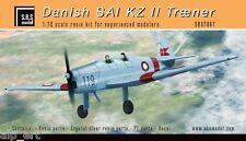 Danish SAI KZ-II Trainer full resin kit 1/72 SBS Model 7007
