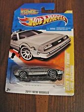 Hot Wheels Back to The Future Time Machine 2011 NEW MODELS 18/50 DeLorean DMC-12