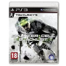Tom Clancy's Splinter Cell Blacklist Upper Echelon (Sony PlayStation 3, 2013)