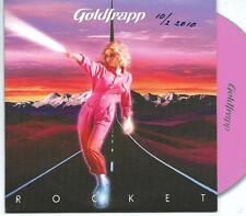 GOLDFRAPP Rocket 2 TRACK PROMO CD SINGLE