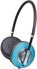 Trevi DJ623 iDJ Stereo HiFi Headphones with built in Mini Microphone in Blue