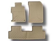 Genuine OEM Honda Civic 4dr Sedan Beige All Season Floor Mat Set 2012 Mats Tan
