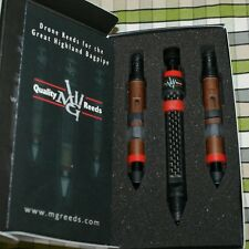 MG Drone Reeds 2 tenors and a Carbon inverted bass for pipes highland bagpipe