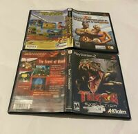 Turok Evolution & Outlaw Volleyball Remixed Game Lot PlayStation 2 PS2  MATURE