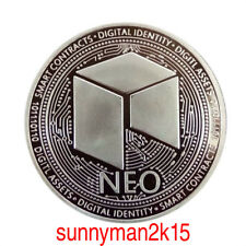 NEO Silver Plated Commemorative Physical Coin Collection Gift