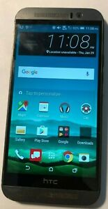 HTC One M9 32GB Gray 6535L (Verizon) Fast Shipping Very Good Used
